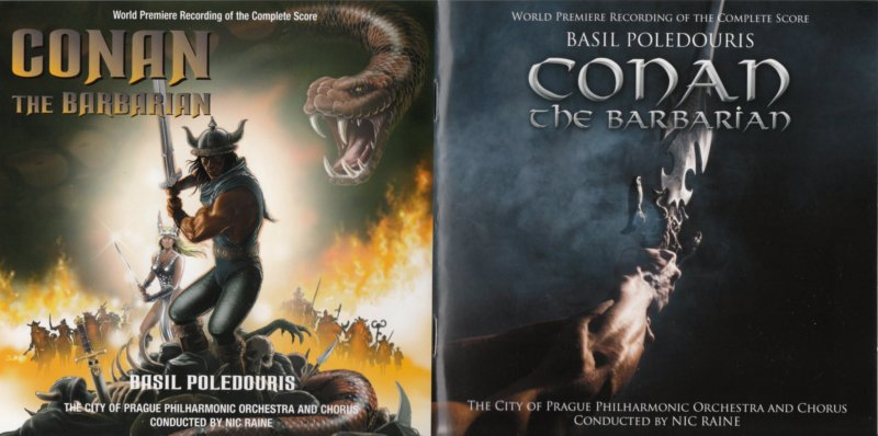 Conan the Barbarian - booklet